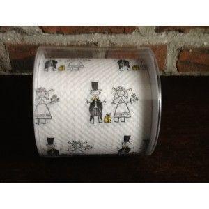 Toiletpapier Wedding